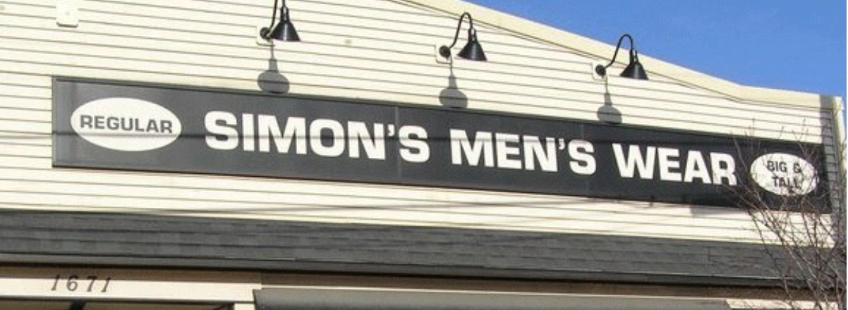 Simon's Men's Wear